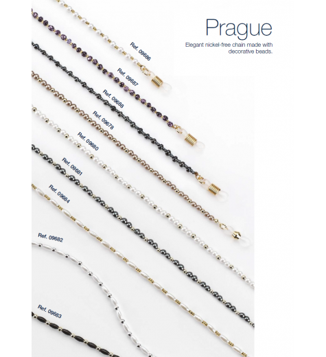 Lančić za naočale od dekorativnih perli