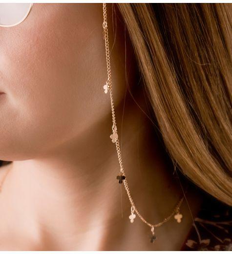 Lančić za naočale - zlatna djetelina