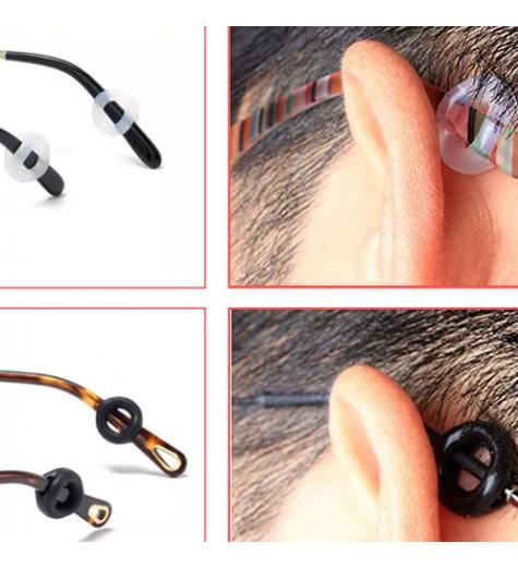 Protuklizni silikonski okrugli nastavak za naočale