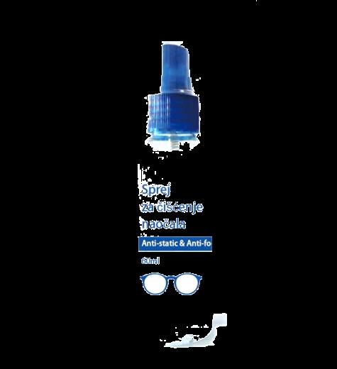 Raspršivač za čišćenje naočala 60 ml