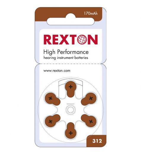 Baterije za slušni aparat Rexton 312