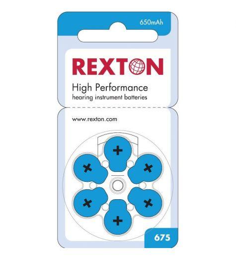 Baterije za slušni aparat Rexton 675